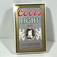 Coors Light Beer Advertising Playing Cards