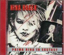 NINA HAGEN - Prima Nina In Ekstasy     CD    NEU&OVP/SEALED!