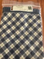 NEW LONGABERGER FABRIC LINER FOR BLUE RIBBON CANNING  BASKET, BLUE RIBBON PLAID