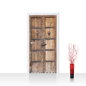 Türtapete Türposter Türfolie Sonstiges Tür Holz Alt Antik no 4252