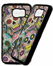 Sugar Skulls Teeth Phone Case Cover Dead Day For Samsung Galaxy s3 s8