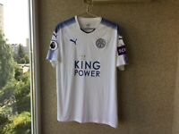Leicester City Third football shirt 2017/2018 Jersey XL Puma Soccer Camiseta