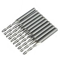 Set Hartmetall Schaftfraeser Fraeser Hartmetallfraesstifte Werkzeug 10 Stk E0A5