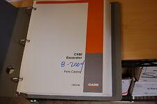 CASE CX80 Excavator Trackhoe Crawler Parts Manual book catalog spare list 2004