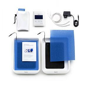 Saalio® DE Set Leitungswasser Iontophorese Gerät gegen Schwitzen an Händen Füßen