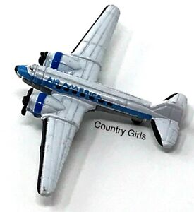 Micro Machines Douglas Skysleeper DC-3 Air America Airplane Transport Plane #27