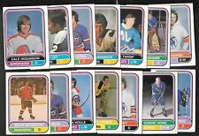 1975-76 OPC 75-76 O PEE CHEE WHA AMH HOCKEY CARD 1-132 SEE LIST
