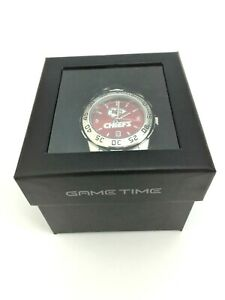 NFL   Kansas City Chiefs Game Time Sport Steel Watch