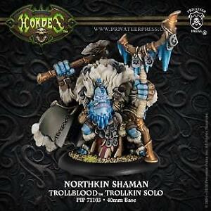 Trollblood Solo Northkin Shaman  inc resin