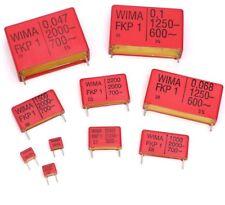 Polypropylene Film (PP) Capacitor WIMA FKP1 & FKP2 Series PP CAPACITORS