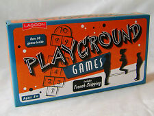 NEW PLAYGROUND GAMES SET WITH FRENCH SKIPPING AND CHALK TRADITIONAL RETRO LAGOON