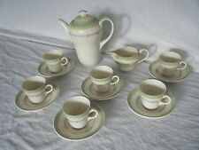 C4 Pottery Newhall Mahley Staffs Richmond Tea Set 15 pieces 7E7C