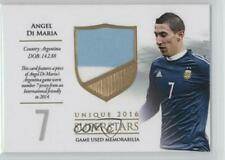 2016 Futera Unique Superstars /59 Angel Di Maria #SS14 Rookie