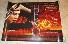 Hero movie poster - Jet Li poster - 30 x 40 inches - Original Uk Quad