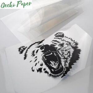 Micro porous inkjet printable acetate sheets for screen printing emulsion 10pack