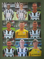 Heracles Almelo 9x AK/Club Cards OHNE UNTERSCHRIFTEN