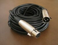 50Ft XLR 3Pin Male to Female Mic Microphone Audio Balanced Shielded Cable 50' Ft
