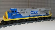 Lego Train Instructions CSX 02 ES44ac Engine NO BRICKS OR STICKERS