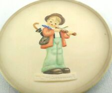 Goebel Hummel Miniature Collector Plate Little Fiddler West Germany 1st Edition