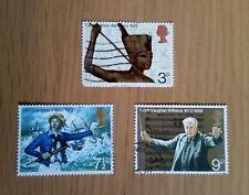 Complete used GB stamp set - 1972 Anniversaries