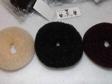2 pcs Hair Bun Buns Donuts  Maker Hair Styling from Choose color .
