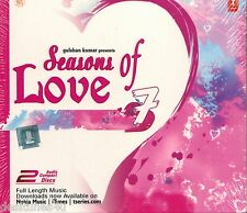 SEASONS OF LOVE 7 ROMANTIC SONGS - 2 CD BOLLYWOOD COMPILATION SET - FREE POST