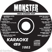 KARAOKE MONSTER HITS CD+G MALE CLASSIC POP #1003