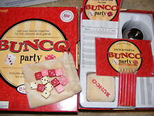 Bunco Dice Game Party Set Complete W/Invitations Age 8+