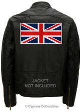 Large British Heritage Patch embroidered iron-on Flag Union Jack Uk England