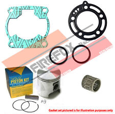 Kawasaki KX100 1988 1989 1990 Mitaka Top End Rebuild Kit Inc Piston & Gasket