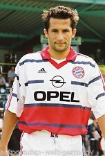 Hasan Salihamidzic Bayern München 1999-00 seltenes Foto