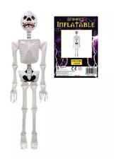 Inflatable Skeleton Halloween Accessory -  Decoration Blow Up Spooky Skeleton