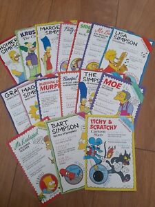 Simpsons Postcards
