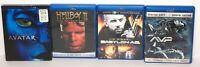 Sci-Fi Fantasy Blu-Ray Lot Of 4 Movies AVP Babylon A.D. Hellboy 2 AVATAR EUC