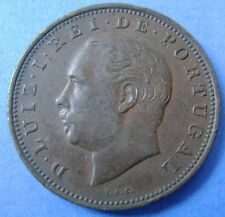 Portugal - 20 Reis 1884 KM# 527