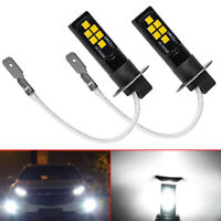 H3 LED Car led fog light lamp car daytime running light White 12V Universal Bulb