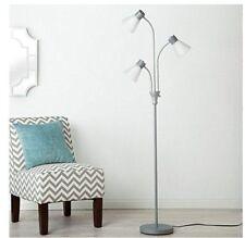 Room Essentials Multihead Floor Lamp White NEW DAMAGED BOX