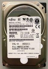 """3 x MBD2147RC Fujitsu 147GB SAS 10.000RPM 2.5"""" 15MM"""