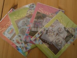 4 x Scrapito Foil Card Making Kits