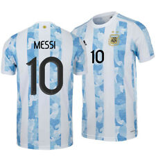 New Messi Argentina Jersey Copa America Champions Men's Soccer Football Shirts