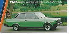 NA-017 - 1980's Fiat Brava 2 Door Vintage Promotional Postcard Automobile Car