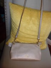 NWT Coach 55661 Charley Crossbody in Pebble Leather, Platinum F55661-IM/Platinum