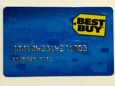 Rare Hsbc Bank Best Buy Collectable Retail Store Credit Charge Card from 2010