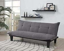 Futon Sofa Bed Twin Size Couch Bed Home Furniture Convertible Sleeper Charcoal