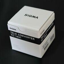 NEW Sigma TC-1401 1.4x Teleconverter Canon Fit Boxed New
