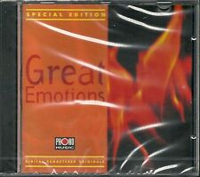 Various Special Edition Great Emotions Phono Music CD