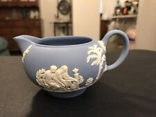 Wedgewood Jasperware Blue Creamer **Mint** Condition. New