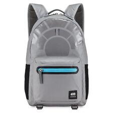 Disney Store Park Millennium Falcon C-3 Backpack Star Wars Nixon Tote Laptop Bag