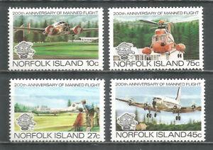 Norfolk Island 1983 mint stamp MNH (**) aviation