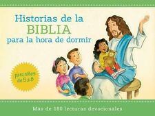Historias Bíblicas para la Hora de Dormir : Más de 180 Lecturas Devocionales...